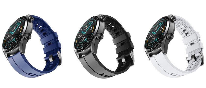 correa de silicona huawei watch gt 2