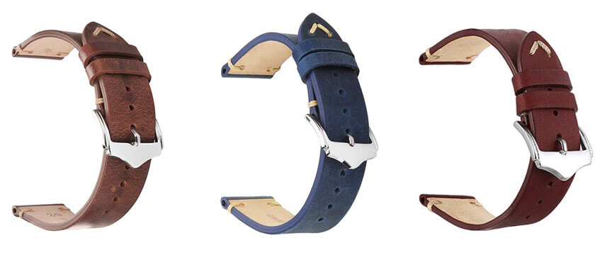 pulsera de cuero para samsung watch