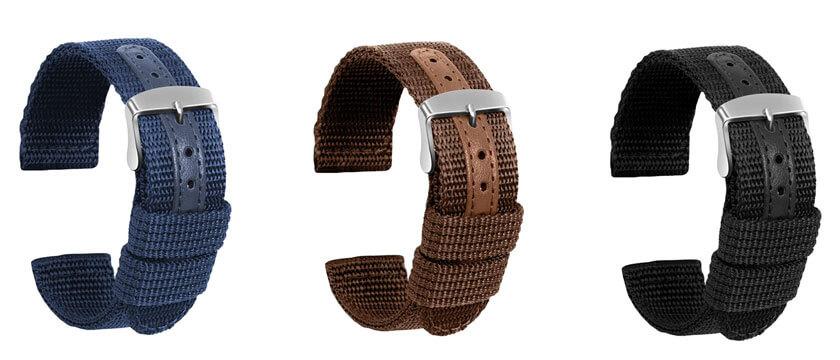 correa de nylon para samsung galaxy watch active 2 44mm 40mm