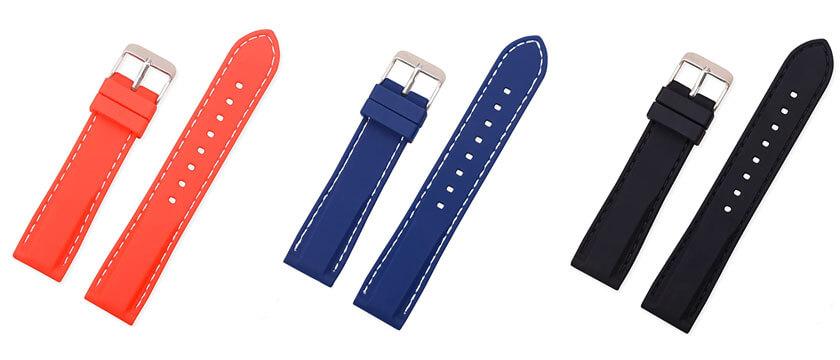 pulsera de silicona para samsung watch 46mm