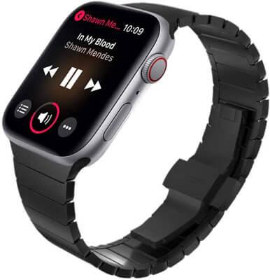 correa metálica para apple watch