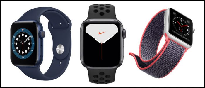 apple watch series 1 2 3 4 5 6 se