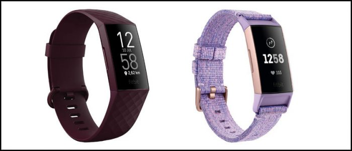 fitbit charge 3 y fitbit charge 4